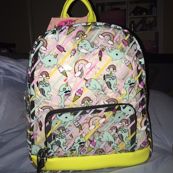3d4b037312d Betsey Johnson Bags   Narwhal Clear Backpack   Poshmark